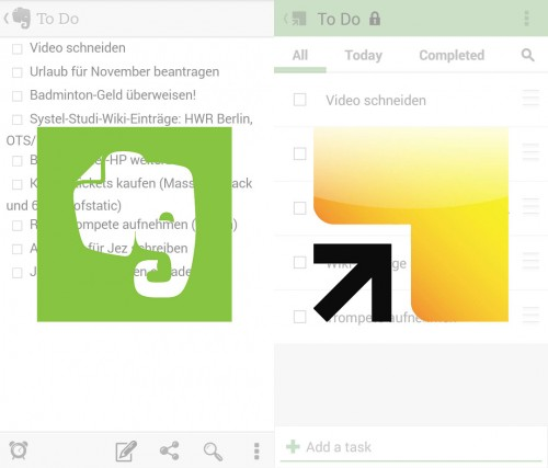 Evernote vs. Springpad
