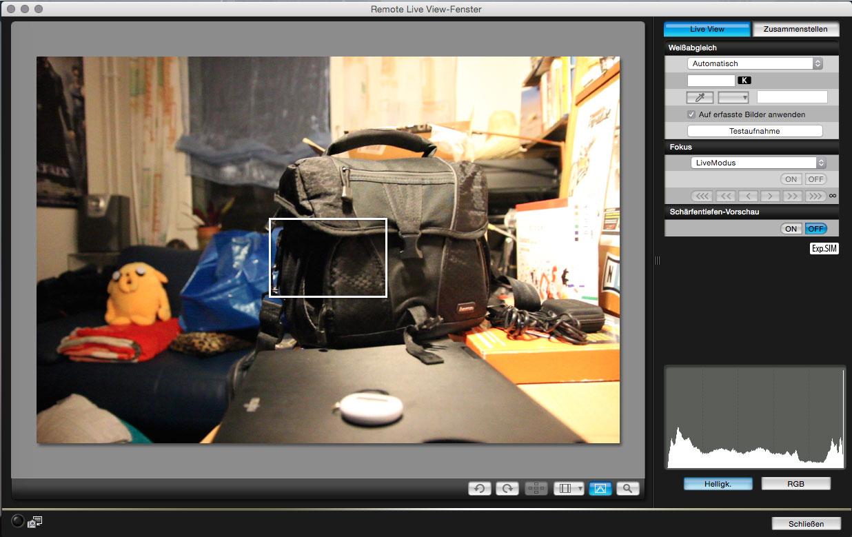 Using Canon EOS Utility without a CD – Herr Herrmann