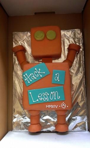 Hack-a-Lesson Cake!