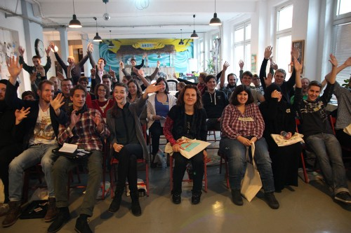 The participants of Hack-a-Lesson!